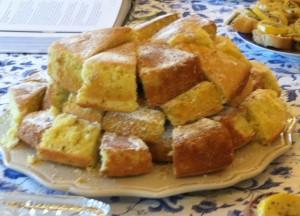 Llemon caraway pound cake